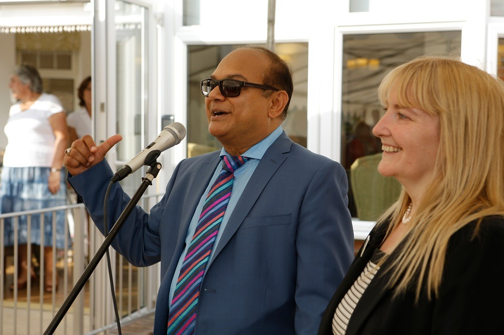 Barton Lodge Managing Director Shabbir Walji and Manager Amanda Cooper