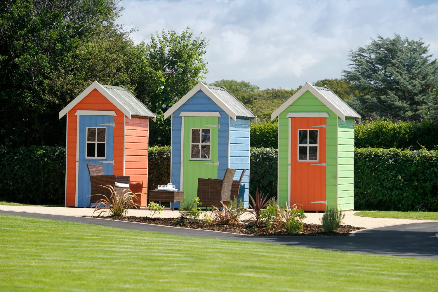 Our beach huts are in the Daily Telegraph | Residential Care Homes ...