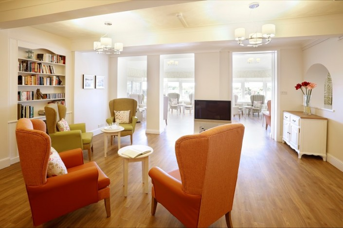 luxury residential care home