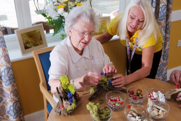 Hampshire Care Homes for Dementia